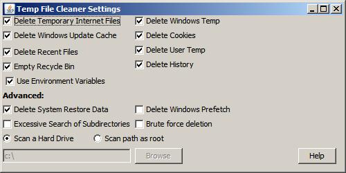 Limpiar Temporales de Windows