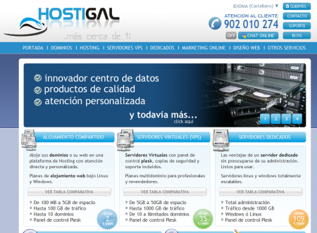 Portal de Hostigal.com