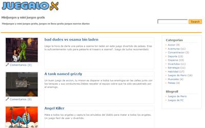 Portal de Juegalox.com