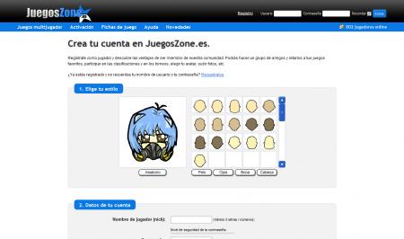 Registro para el servicio de Juegos Multijugador