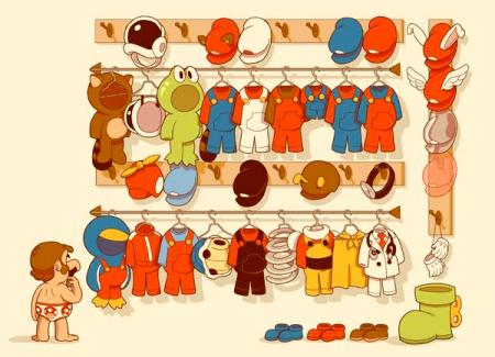 closet de mario