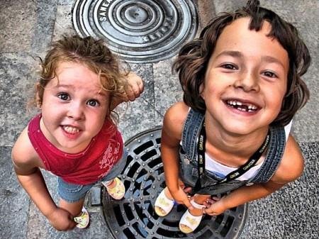 fotos niños sonriendo