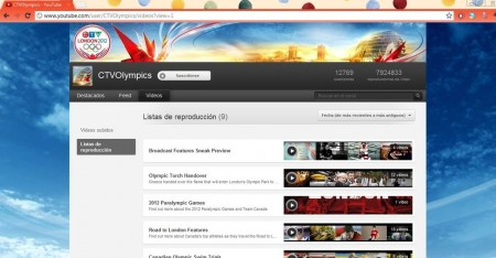 olimpiadas youtube ctv