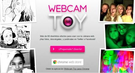webcam toy efectos para tus fotos webcam