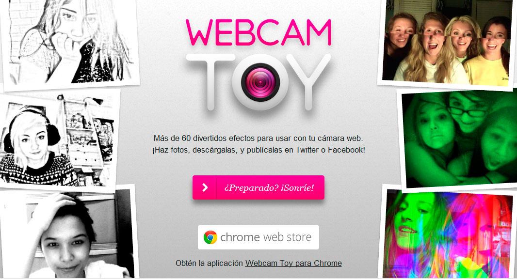 Tomar fotos con camara web toy 11
