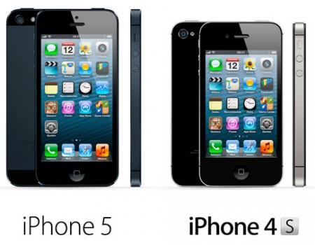 comparacion iphone 4S vs iphone 5