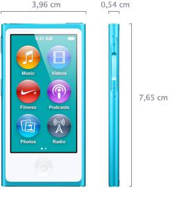 dimensiones ipod nano