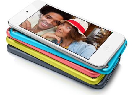 ipod touch colores