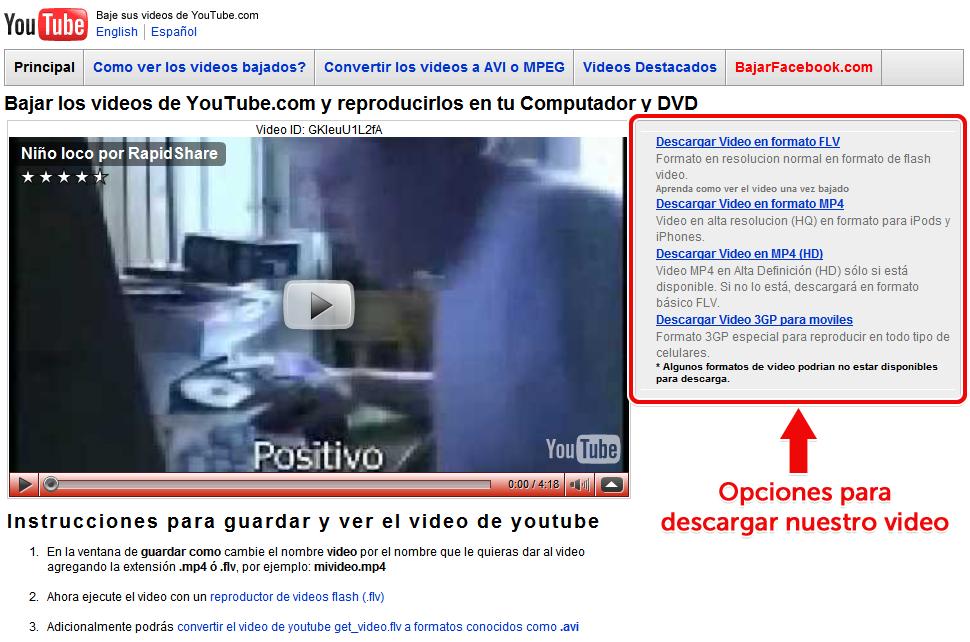 Bajar Videos De Youtube De Manera Sencilla... No Lo Sabias